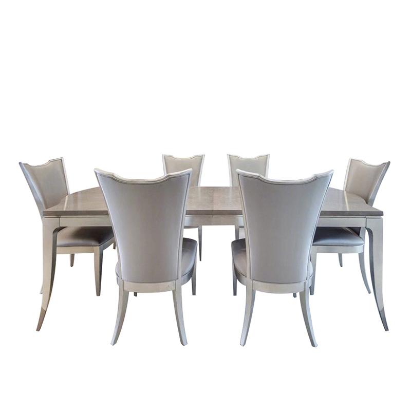 Bộ bàn ghế ăn cao cấp phong cách Mỹ