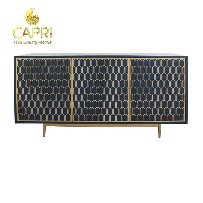 Đồ nội thất cao cấp Capri Home: Tủ kệ trang trí Apollon