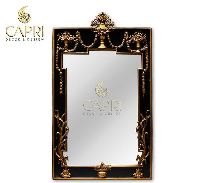 Gương trang trí cao cấp Capri: Kim Hoa
