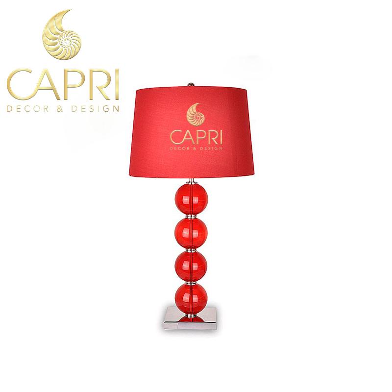 Đèn trang trí Capri Home: Đèn bàncao cấp mẫu 10