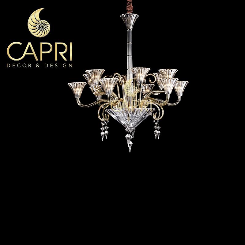 Đèn trang trí Capri Home: Đèn chùm cao cấp mẫu 3