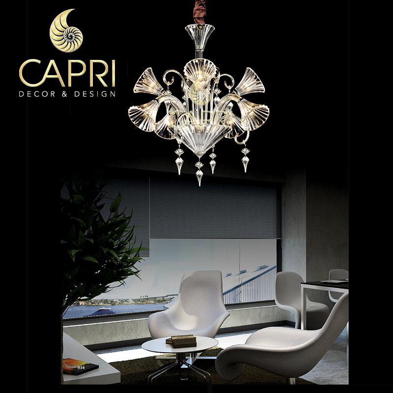 Đèn trang trí Capri Home: Đèn chùm cao cấp mẫu 4