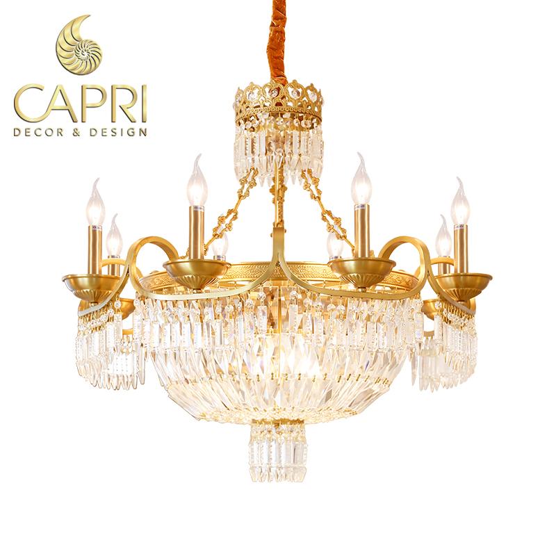 Đèn trang trí Capri Home: Đèn chùm cao cấp mẫu 152