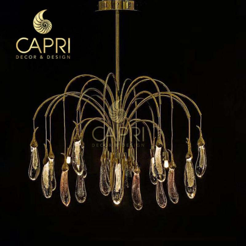 Đèn trang trí Capri Home: Đèn chùm cao cấp mẫu 153