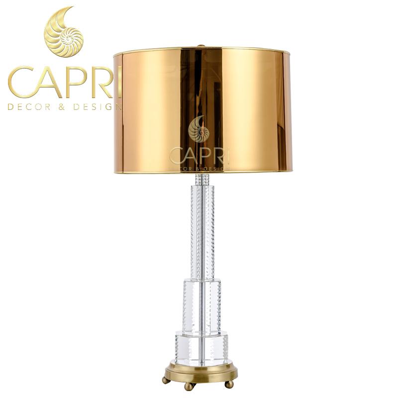 Đèn trang trí Capri Home: Đèn bàncao cấp mẫu 23