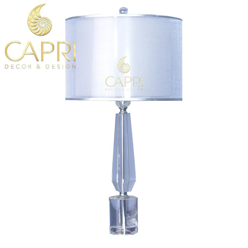 Đèn trang trí Capri Home: Đèn bàncao cấp mẫu 24
