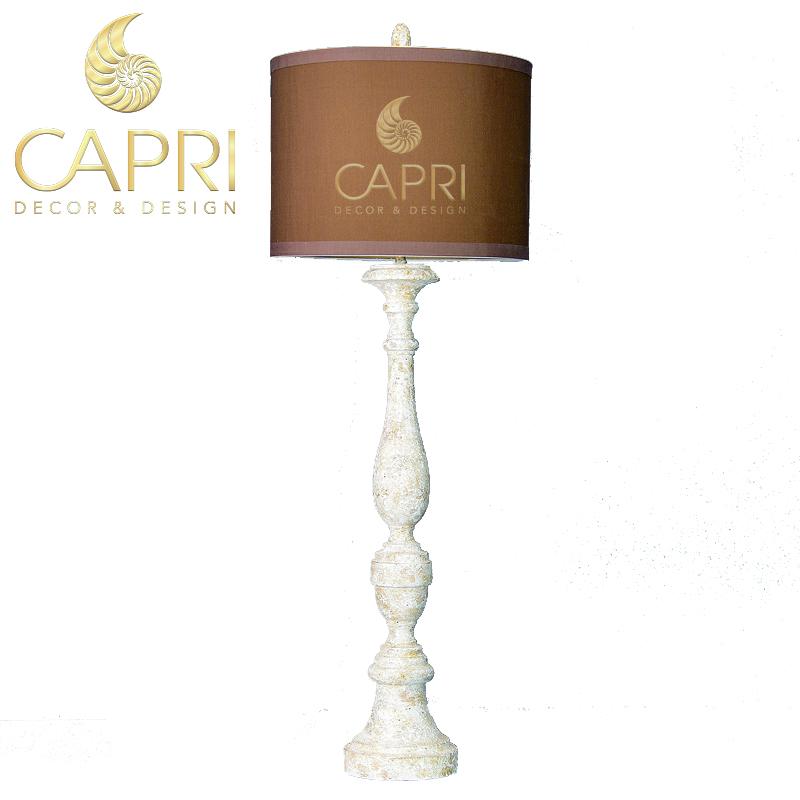 Đèn trang trí Capri Home: Đèn cây cao cấp Cổ Mộc