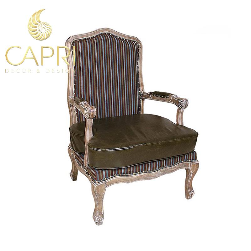 Đồ nội thất cao cấp Capri Home: Sofa đơn bọc da