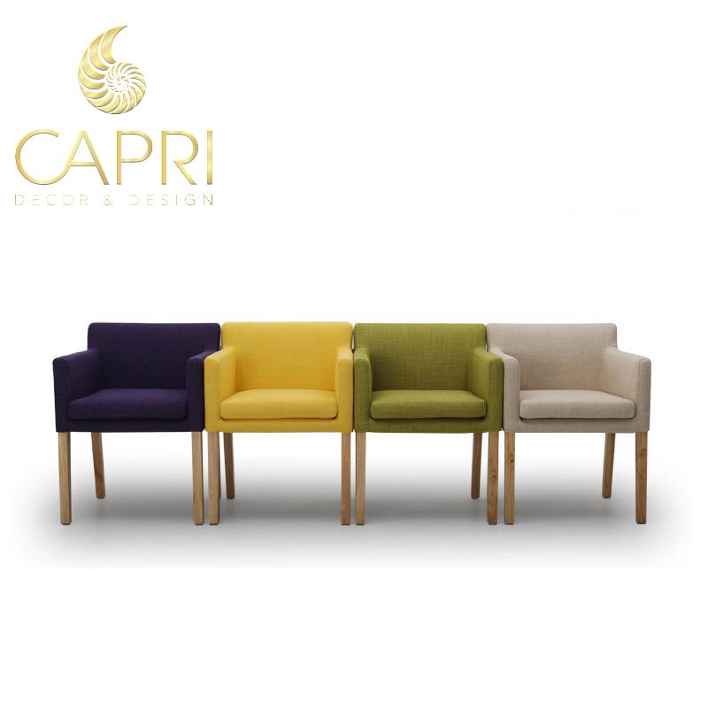 Đồ nội thất cao cấp Capri Home: Sofa đơn (mẫu 1)