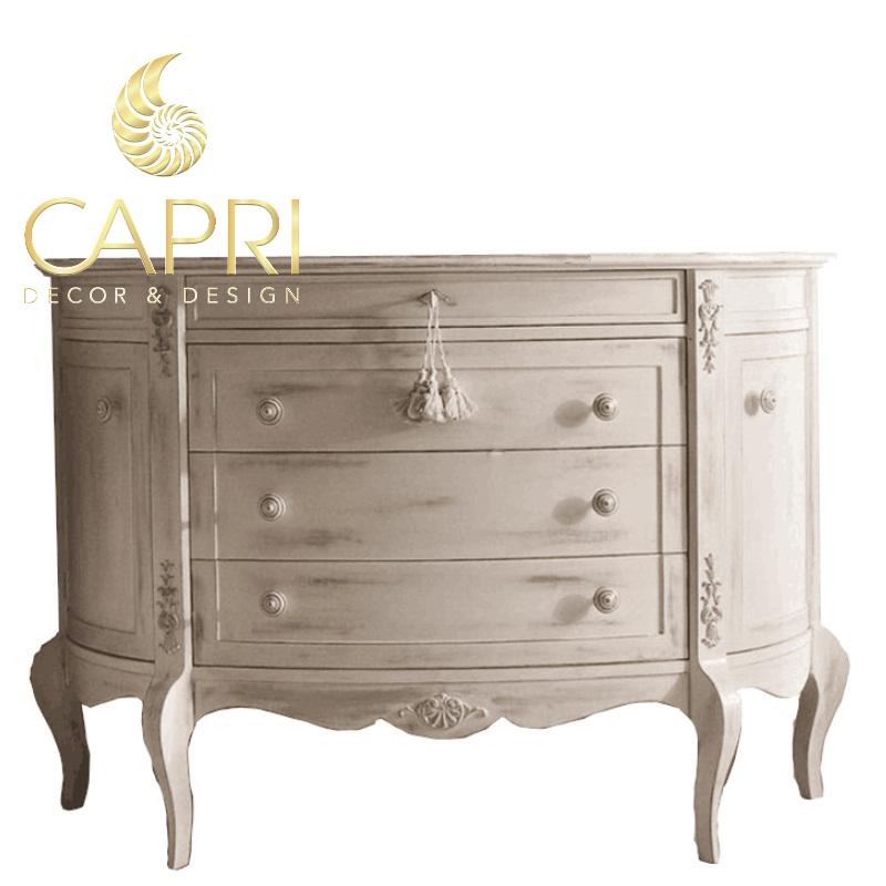 Đồ nội thất cao cấp Capri Home: Tủ trang trí Bạch Dương