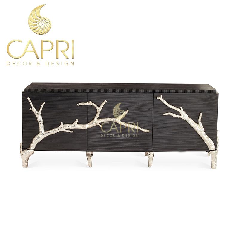 Đồ nội thất cao cấp Capri Home: Tủ trang trí Bạch Ngân Chi
