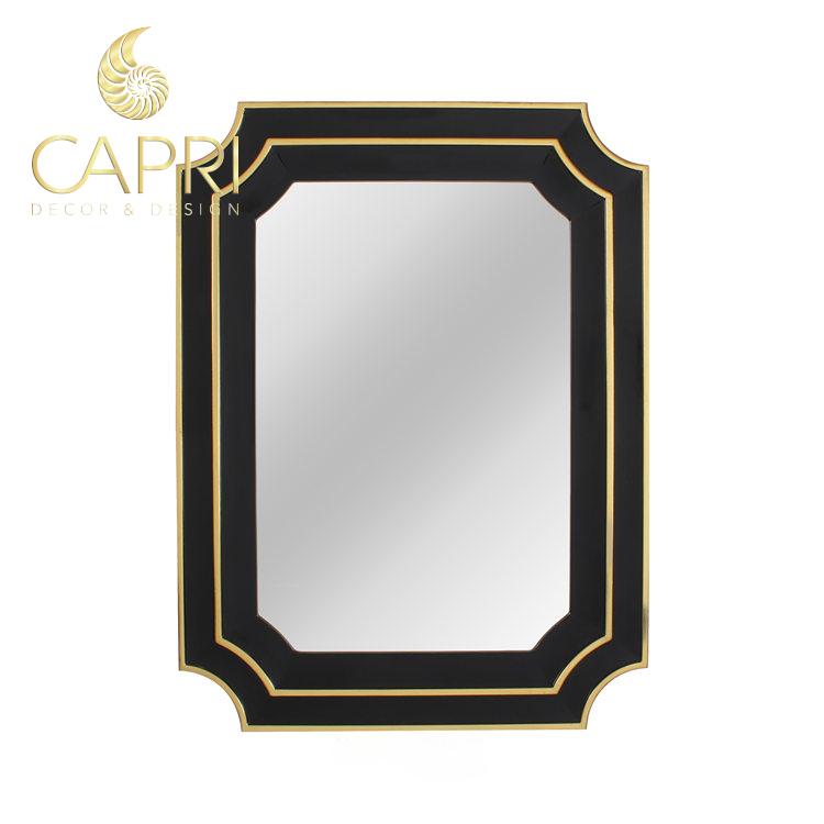 Gương trang trí cao cấp Capri: Huyền Mộc