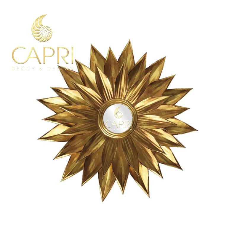 Gương trang trí cao cấpCapri Home: Hoa hướng dương