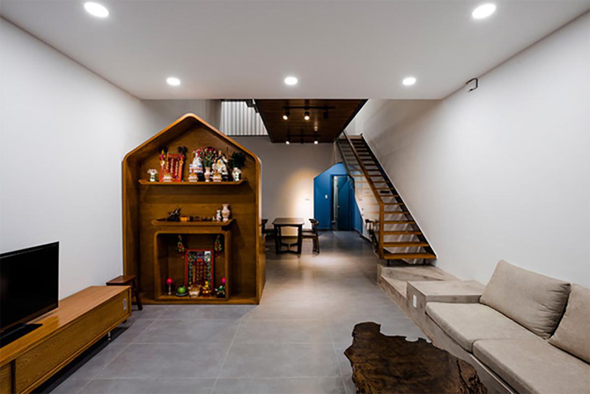 Quiin House, nhà ống với cách thiết kế nội thất độc đáo xuất hiện trên tạp chí Mỹ