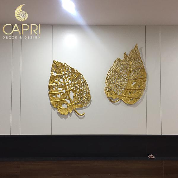 Khách hàng hết lời khen ngợi những tác phẩm tranh sắt nghệ thuật của Capri Home