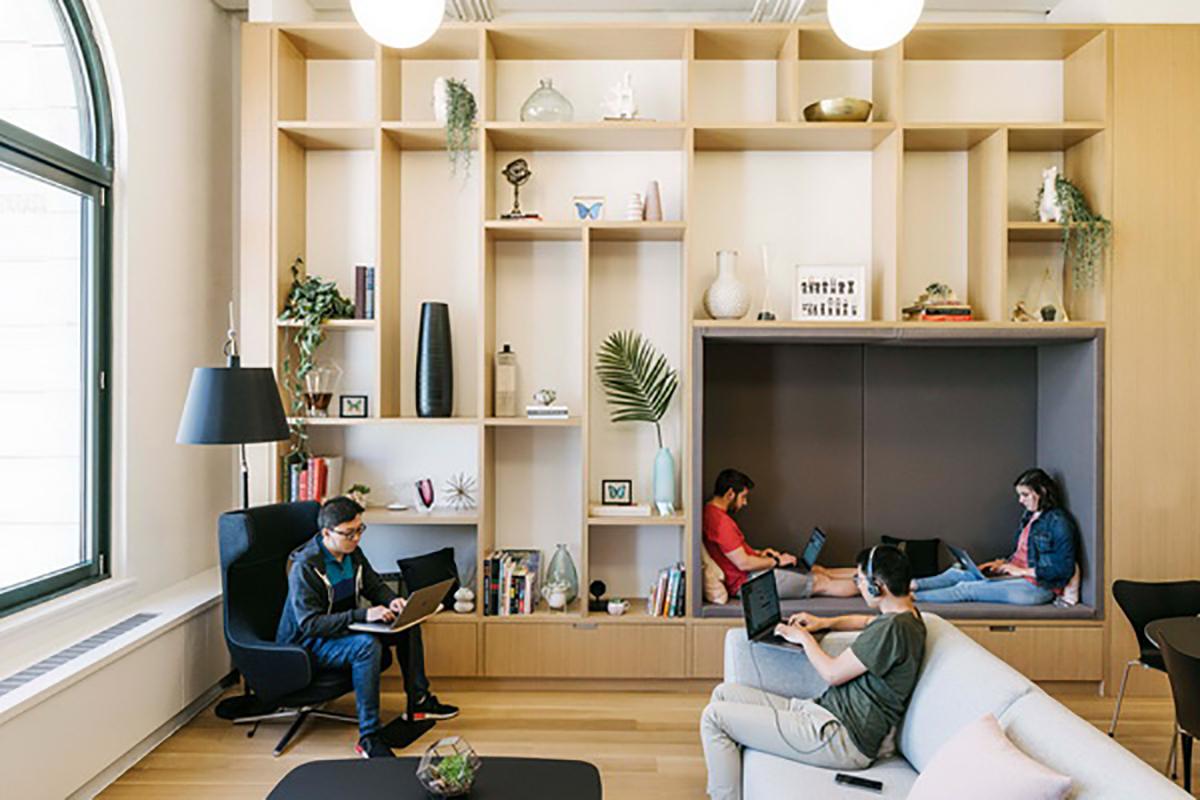 Phong cách nội thất đẹp ngất ngây tại văn phòng mới của Instagram (Manhattan)
