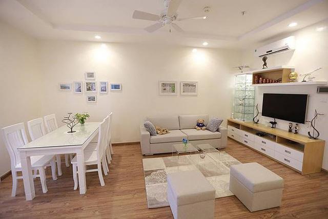 Căn hộ đẹp mê mẩn với nội thất trắng tinh khiết
