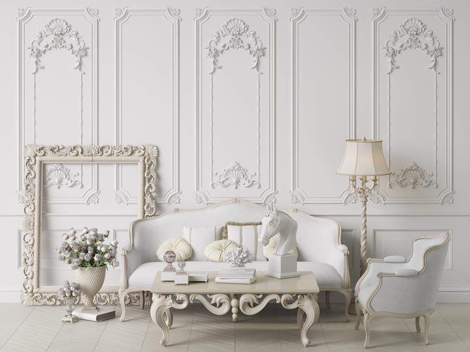 Đôi nét về phong cách thiết kế nội thất Cổ điển (Phần 4)