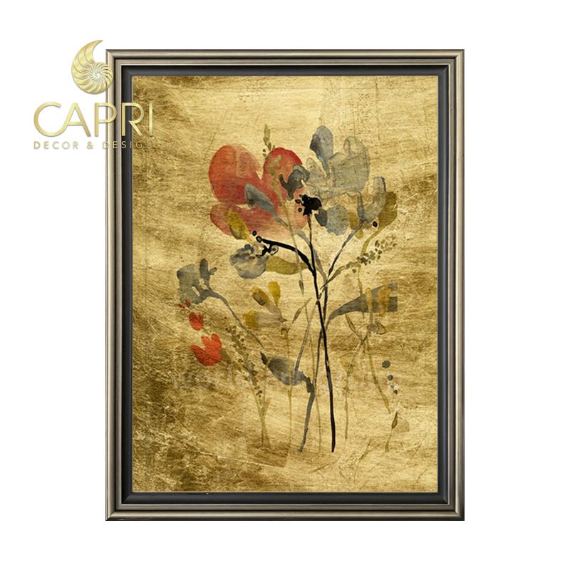 Tranh in bản quyền CapriHome : Lustr Flower Overlay I