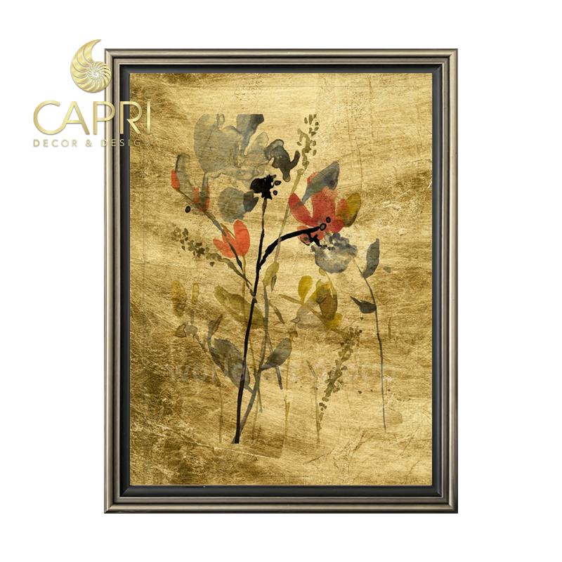 Tranh in bản quyền CapriHome : Lustr Flower Overlay II