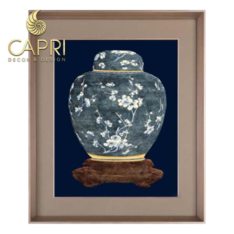 Tranh in bản quyền CapriHome : Lục Bình 1