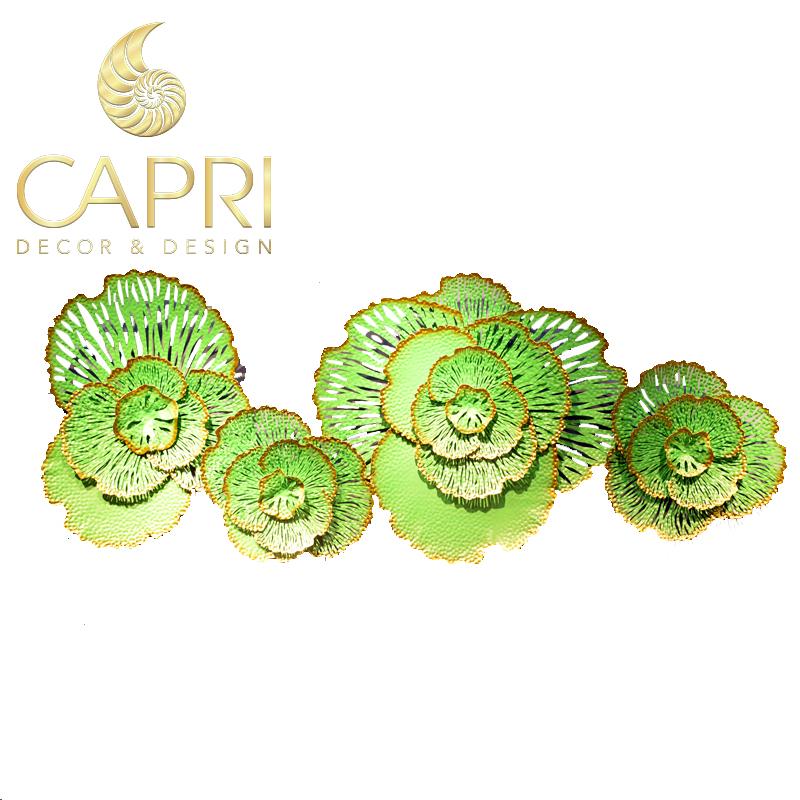 Tranh sắt nghệ thuật Capri Home: Bắp cải xanh lá