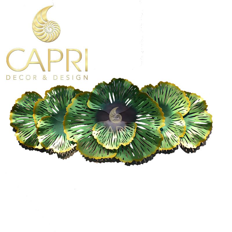 Tranh sắt nghệ thuật Capri Home: Bắp cải xanh thẫm