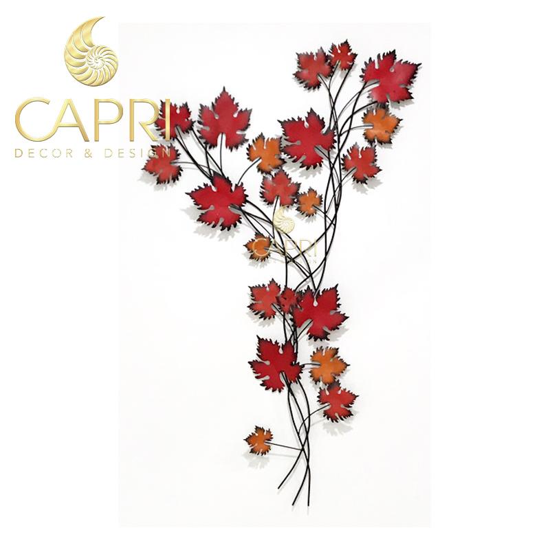 Tranh sắt nghệ thuật Capri Home: Hồng Phong Diệp