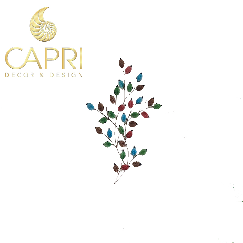 Tranh sắt nghệ thuật Capri Home: Ngũ sắc diệp
