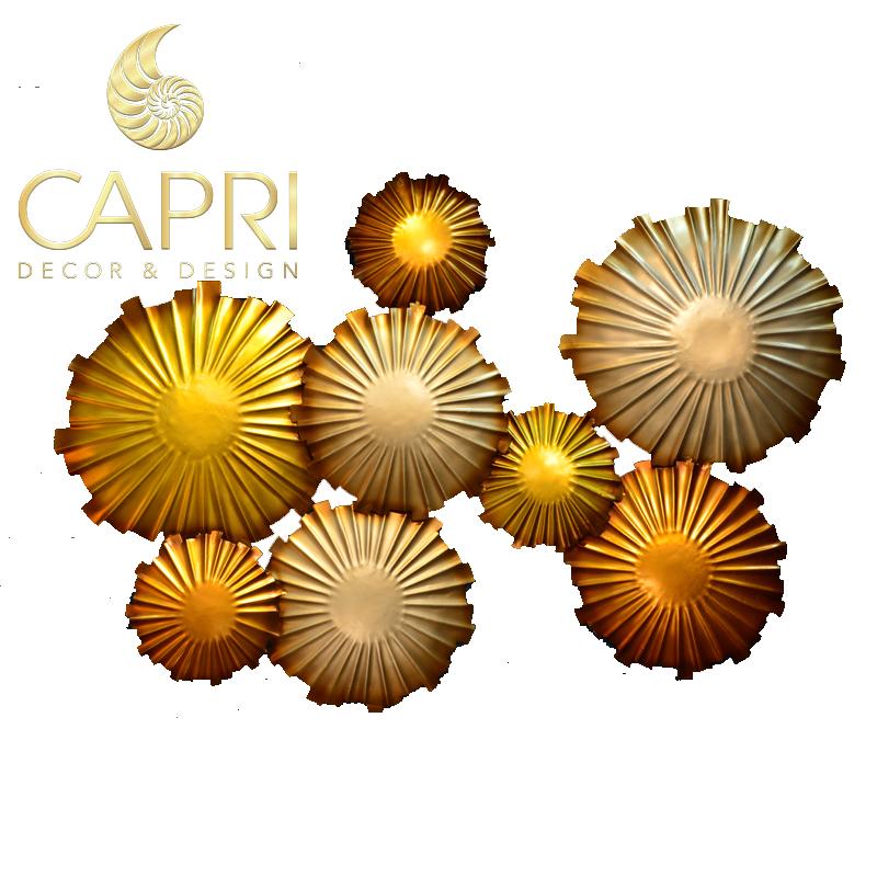 Tranh sắt nghệ thuật Capri Home: Thiết phiến diệp